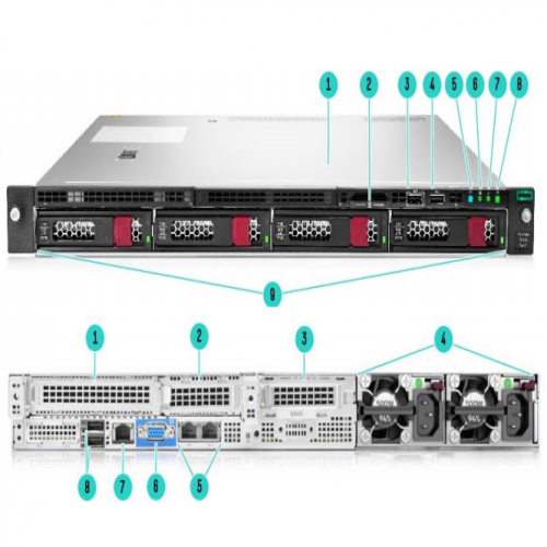 HPE ProLiant DL160 Gen10 4LFF