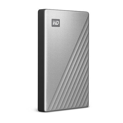 Ổ Cứng Di Động HDD Western Digital My Passport Ultra 4TB 2.5inch USB C (Bạc)