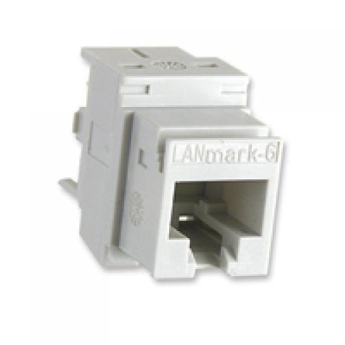 Đầu nối LANmark-6 chuẩn Cat6,chống nhiễu LANmark-6 Evo Snap-In Connector Cat 6 Screened (box 24pcs)