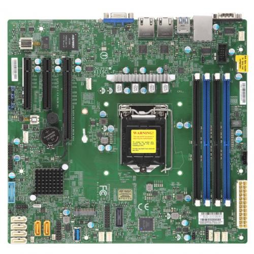 MainBoard Server SuperMicro X11SCL-F