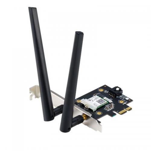 Cạc mạng Wifi 6 PCI Asus PCE-AX3000 Chuẩn AX3000