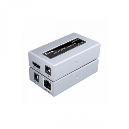 Bộ Chuyển Đổi HDMI to LAN 60m Dtech DT-7073