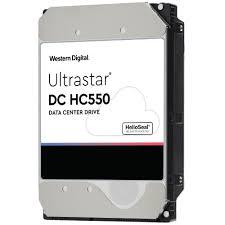 Ổ Cứng HDD Western WD Ultrastar DC HC550 16TB 3.5inch  512MB Cache 7200RPM SAS