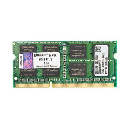 Ram Kingston DDR3L 8GB Bus 1600 SODIMM 1.35v