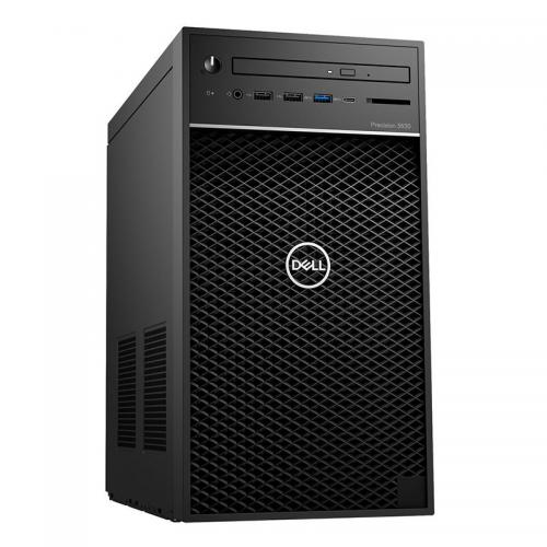 PC Dell Precision 3640 Tower 70228825 (W-1250/2x4GB DDR4/1TB/Nvidia Quadro P620, 2GB, 4mDP/DVDRW/Key + Mouse/Ubuntu