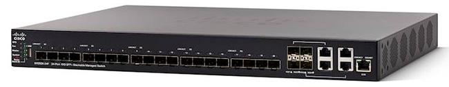 Thiết bị mạng Switch Cisco SMB SX550X-24-K9-EU