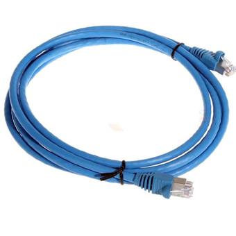 Cáp đấu nối, U/UTP, Cat.5e, CM, màu xanh dương, 1.5m