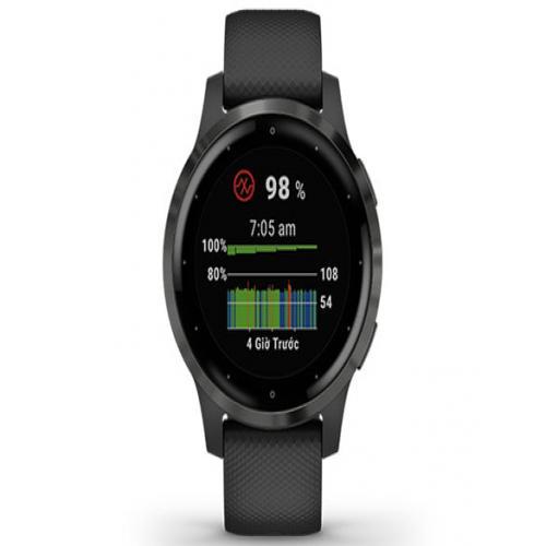 Vòng Đeo Tay Theo Dõi Sức Khỏe Garmin Vivoactive 4S GPS Wi-Fi Black/Slate SEA_010-02172-19