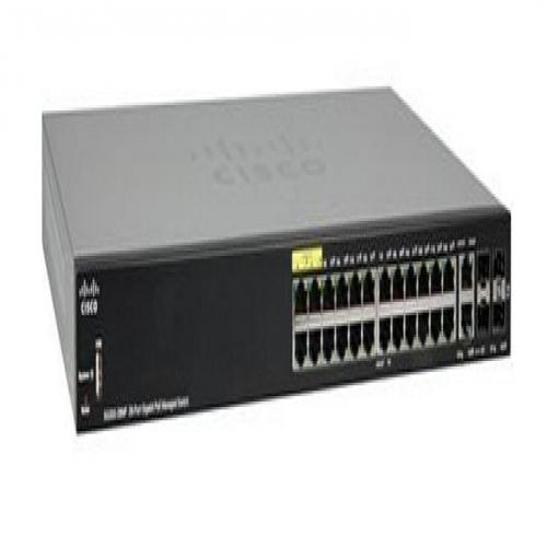 Thiết Bị Mạng 28-Port Gigabit PoE Managed Switch CISCO SG350-28MP-K9-EU