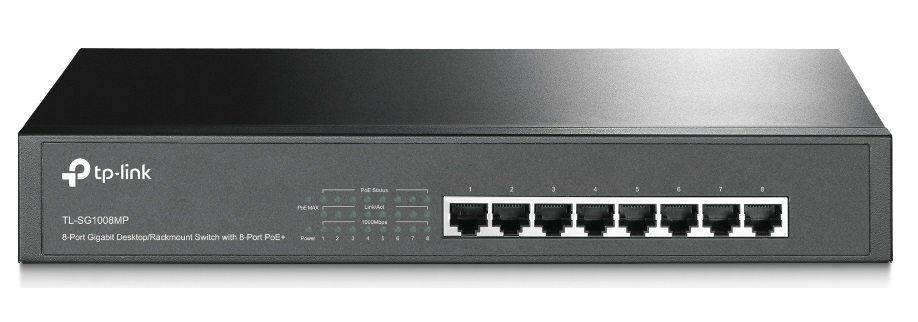 Thiết Bị Mạng Switch TP-LINK TL-SG1008MP 8 Ports Gigabit POE