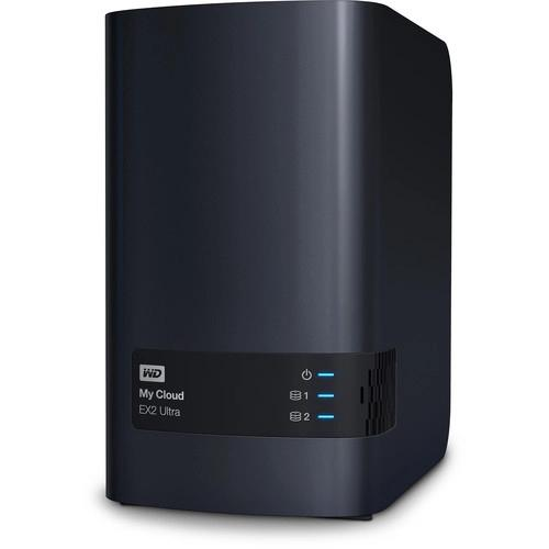 Thiết bị lưu trữ mạng NAS WD My Cloud EX2 Ultra 8TB WDBVBZ0080JCH-SESN