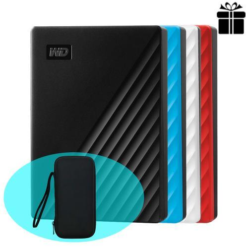Ổ cứng di động Western Digital My Passport 4TB WDBPKJ0040BBL-WESN (Phiên bản mới) BLUE