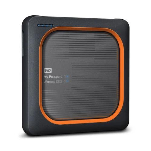 Ổ cứng di động SSD Western Digital My Passport Wireless 2TB USB 3.0 WiFi - WDBAMJ0020BGY-PESN (Đen)