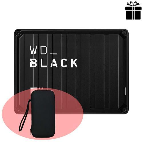 Ổ cứng di động Western Black P10 Game Drive 4TB WDBA3A0040BBK-WESN