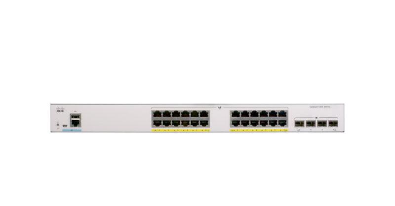 Thiết Bị Mạng Cisco Catalyst 1000 C1000-24FP-4G-L