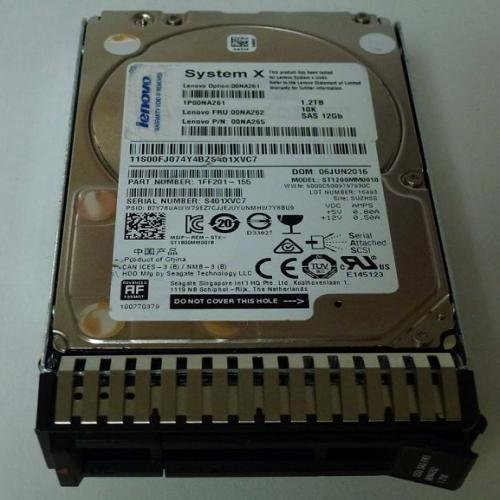 Ổ Cứng HDD IBM 1.2TB 10K rpm SAS 12Gbps 2.5inch Sff Hot Swap Gen3 512e Hard Disk Drive