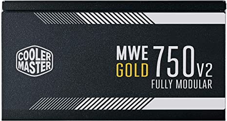 Nguồn Cooler Master MWE GOLD 750 - V2 Fully Modular MPE-7501-AFAAG