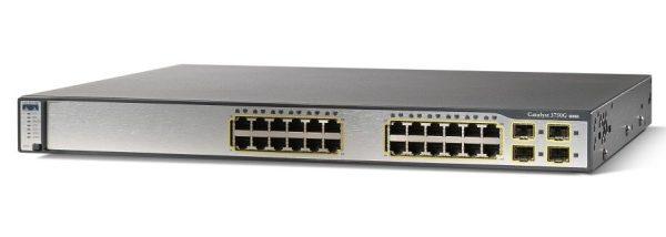Thiết Bị Mạng Switch Cisco Catalyst 3750 WS-C3750G-24TS-S1U