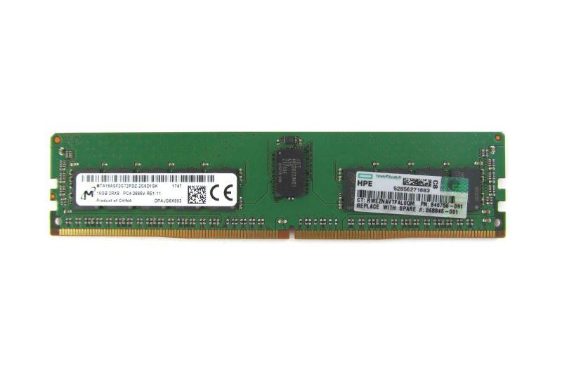 Ram HP 16GB (1x16GB) DUAL RANK X8 PC4-21300 ( 840756-091)