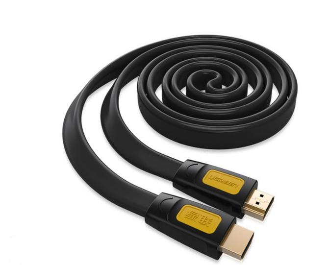 Cáp HDMI 1,5M Sợi Dẹt Hỗ Trợ 4Kx2K Chính Hãng Ugreen 11184