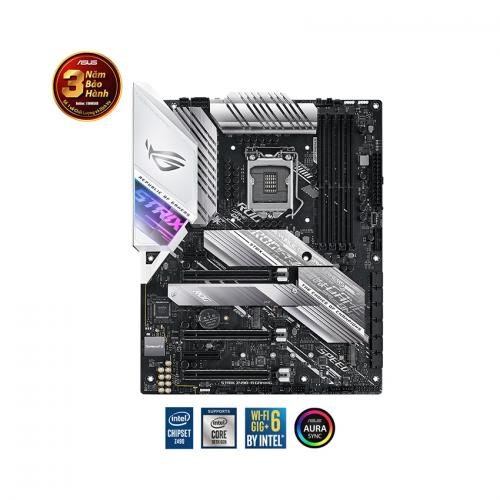 Mainboard ASUS ROG STRIX Z490-A GAMING (Intel Z490, Socket 1200, ATX, 4 khe RAM DDR4)