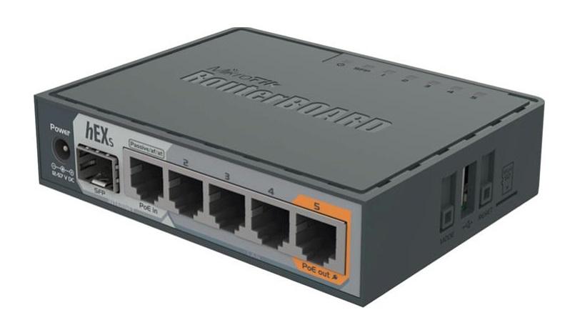Thiết Bị Mạng Router MIKROTIK RB760iGS