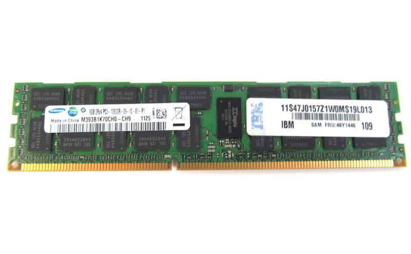 Bộ Nhớ RAM IBM 49Y1446 8GB (1X8GB) PC3-10600 DDR3 RDIMM Server Memory