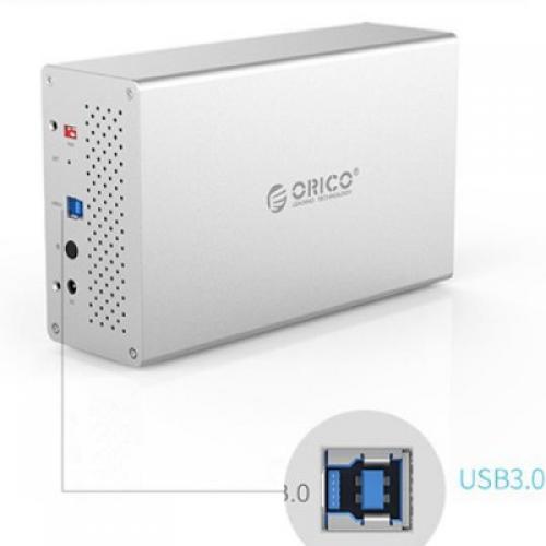 HDD Box Ổ Cứng 3.5inch Orico WS200RU3 SSD/HDD Sata 3 USB 3.0 Type B