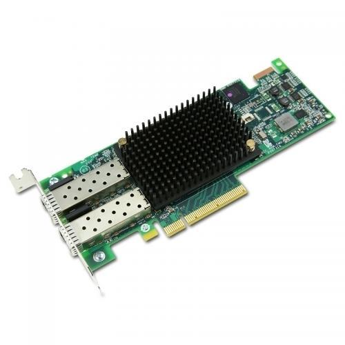 Thiết Bị Mạng Emulex LPe16002 Dual Port 16Gb FC Fiber Fibre Channel HBA Host Bus Adapter - NK