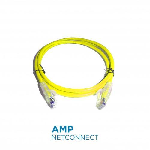 Dây Nhảy Patch Cord Cat6 10FT Yellow NPC06UVDB-YL010F