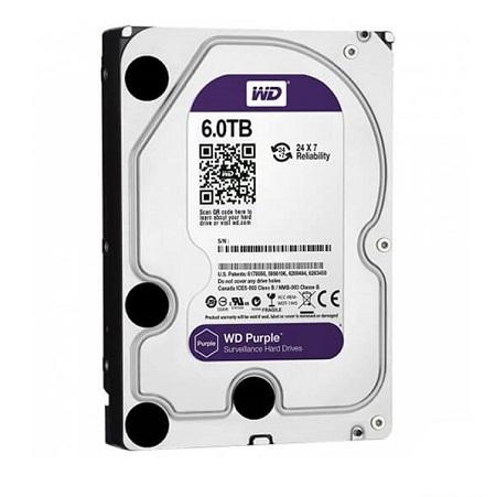 Ổ Cứng HDD Western Digital Purple 6TB 128MB Cache 3.5 inch SATAIII