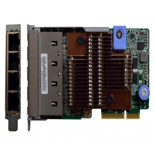 Card Mạng Lenovo ThinkSystem 10Gb 4 Ports 10GBASE-T LOM