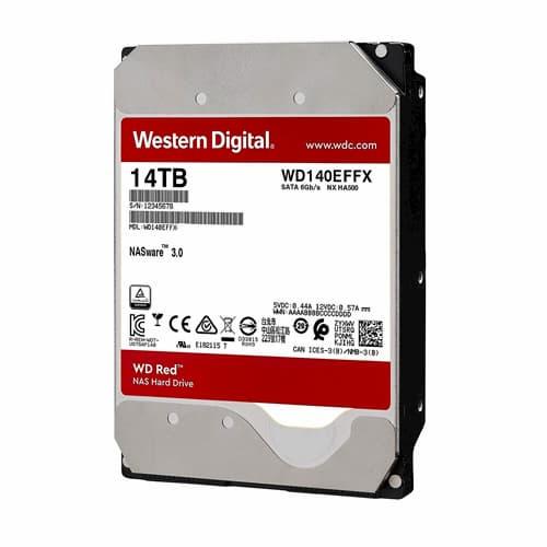 Ổ Cứng HDD WD Red Pro 14TB NAS Internal 7200 RPM SATA 6 Gb/s CMR 256 MB Cache