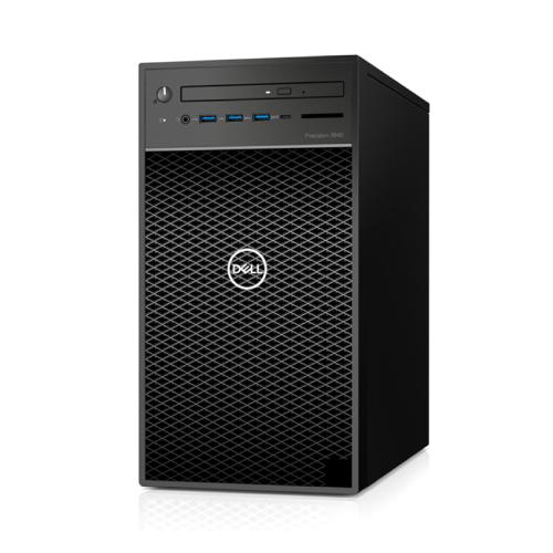 Máy Bộ Workstation Dell Precision 3640 Tower 70231770 (i7-10700K/16GB RAM (2x8)/1TB HDD/P2200/DVDRW/K+M/Ubuntu)