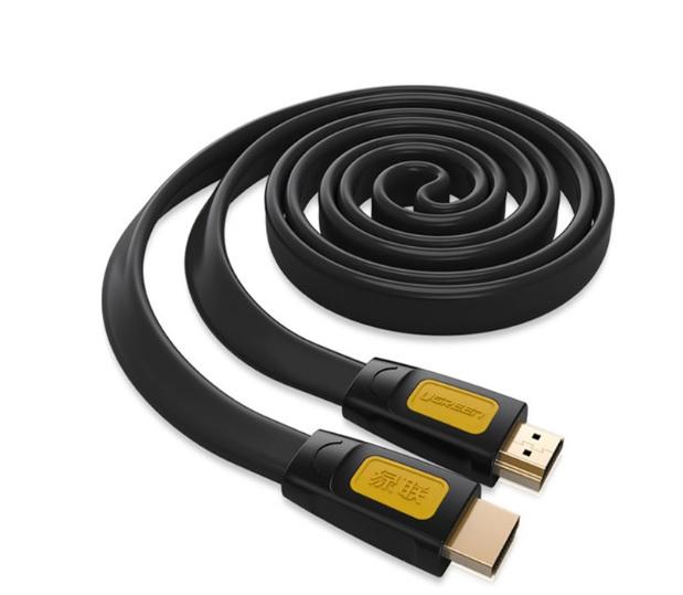 Cáp HDMI 5M Sợi Dẹt Hỗ Trợ 4Kx2K Ugreen 11187