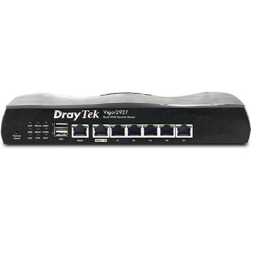 Thiết Bị Mạng Router Draytek Vigor2927 Dual-WAN VPN Firewall