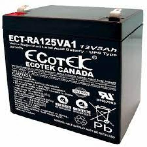 Ắc Quy Ecotek ECT-RA125VA1 12V/5Ah