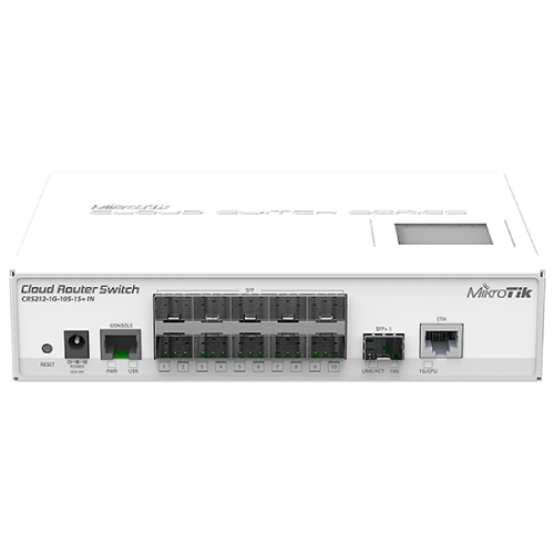 Thiết Bị Mạng Router Mikrotik CRS212-1G-10S-1S+IN