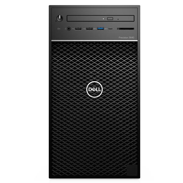 Máy Bộ Workstation Dell Precision 3640 Tower 70231772 (Intel Core i7-10700K 3.80GHz, 16MB/Ram (2x8GB) DDR4/SSD 256GB + HDD 1TB/5GB Nvidia Quadro P2200/DVDRW/Key + Mouse/Ubuntu)