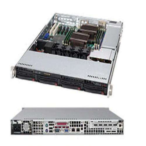 Chassis SuperMicro SuperChassis 815TQ-563CB