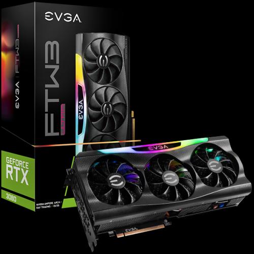 Card Màn Hình VGA EVGA GeForce RTX 3080 FTW3 ULTRA Gaming 10GB GDDR6X