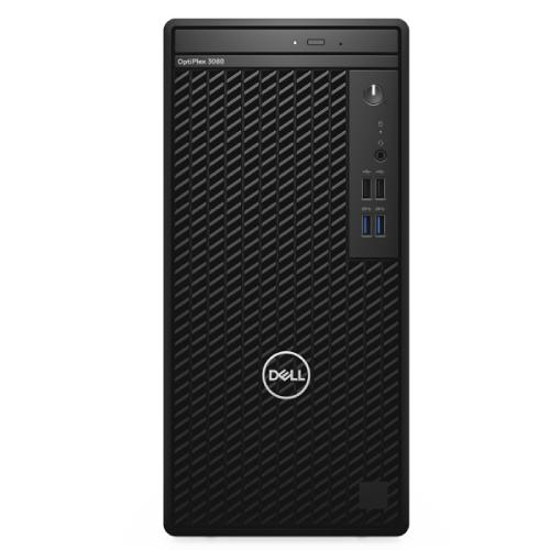 Máy Bộ PC Dell OptiPlex 3080 Tower 42OT380012 (Intel Core i3-10100/4GB/256GBSSD/Linux/DVD/CD RW)