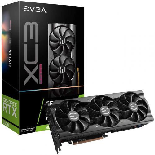 Card Màn Hình VGA EVGA GeForce RTX 3070 XC3 Ultra Gaming 8GB GDDR6