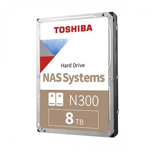 Ổ Cứng HDD Toshiba N300 8TB NAS SATA3 7200RPM 3.5inch 256MB Cache