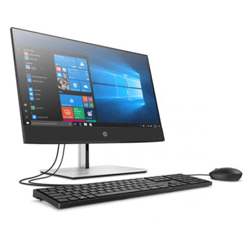 Máy Bộ PC All in One HP ProOne 400 G6 Touch 230T1PA (Intel Core i7-10700 2.9GHz, 16MB/Ram 8GB DDR4/SSD 512GB/RADEON 535 2GB GDDR5/23.8 inch FHD Touch/DVDRW/Wlac +BT/Key & Mouse/ Win10SL)