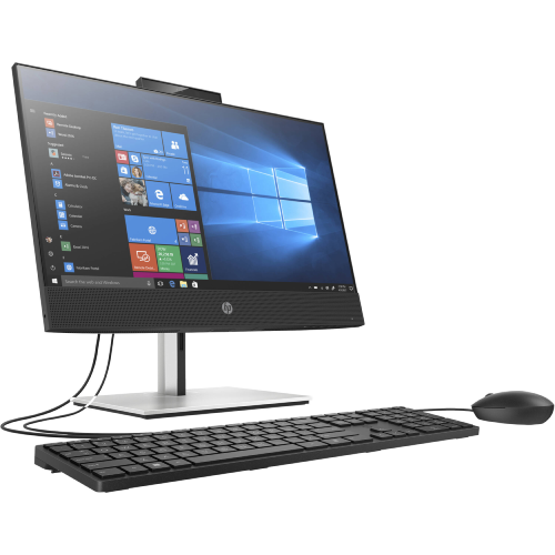 Máy Bộ PC All in One HP ProOne 600 G6 Touch 236C1PA (Intel Core i7-10700 2.9GHz, 16MB/Ram 8GB DDR4/SSD 512GB/Intel UHD Graphics/21.5 inch FHD Touch/DVDRW/Wlac +BT/Key & Mouse/Win10SL)