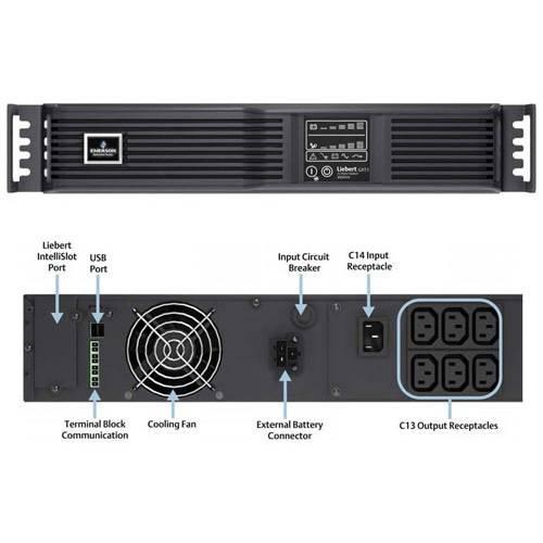 Bộ Lưu Điện UPS Emerson Liebert GXT3-2000RT230 2000VA