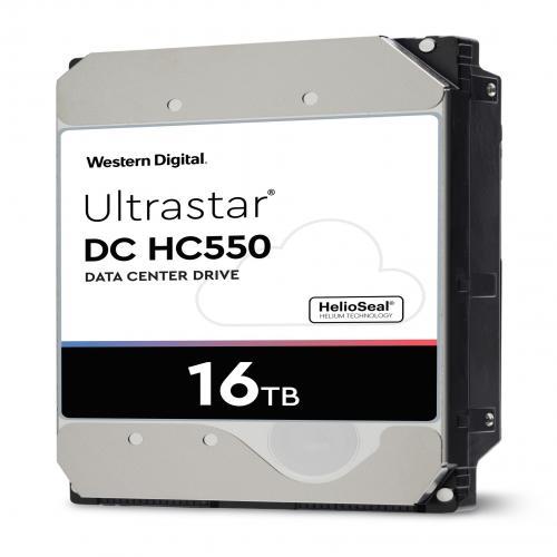 Ổ Cứng HDD Western Digital Ultrastar DC HC550 Enterpise 16TB 512MB Cache 7200rpm SATA3 6 Gbit/s