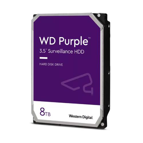 Ổ Cứng HDD Western Digital Purple 8TB ntelliPower 256MB Cache 7200rpm 3.5inch