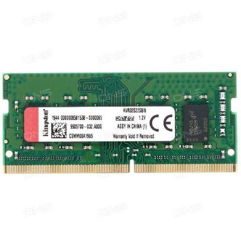 Bộ Nhớ RAM Laptop Kingston DDR4 8GB Bus 3200 CL22